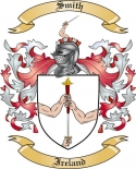 Smith Family Crest from Ireland