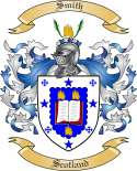 Smith Family Coat of Arms from Scotland