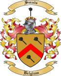 Smuts Family Coat of Arms from Belgium