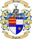 Snappe Family Coat of Arms from England2