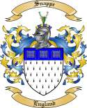 Snappe Family Coat of Arms from England
