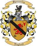 Spenceeley Family Coat of Arms from England