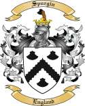 Spurgin Family Coat of Arms from England