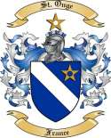 St.Onge Family Coat of Arms from France