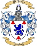 St. James Family Crest from England