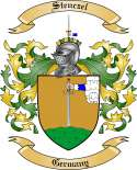 Stenczel Family Coat of Arms from Germany