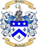 Stephen Family Coat of Arms from Scotland