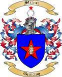 Sterner Family Coat of Arms from Germany