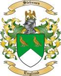 Stevenes Family Coat of Arms from England