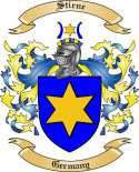 Stirne Family Coat of Arms from Germany2
