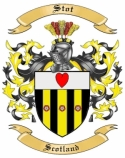 Stot Family Coat of Arms from Scotland