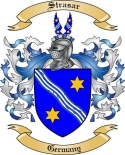 Strasar Family Coat of Arms from Germany