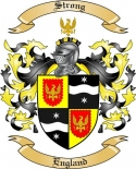 Strong Family Coat of Arms from England2