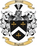 Stroud Family Coat of Arms from England