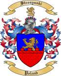 Strozynski Family Coat of Arms from Poland