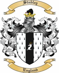 Stubley Family Coat of Arms from England