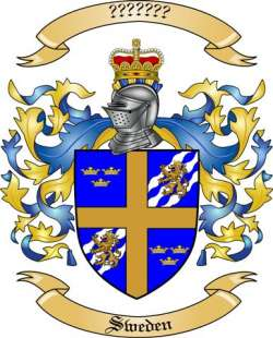 Sweden Family Crest from Sweden by The Tree Maker