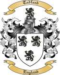 Tadford Family Crest from England
