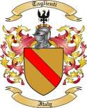Taglienti Family Crest from Italy