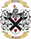 Taillefer Family Crest from Scotland