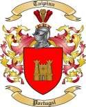 Taipina Family Crest from Portugal