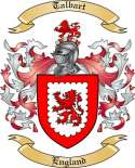 Talbart Family Coat of Arms from England2