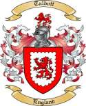 Talbott Family Coat of Arms from England2