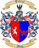 Taliani Family Crest from Italy