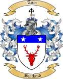 Tam Family Coat of Arms from Scotland