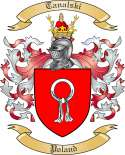 Tanalski Family Coat of Arms from Poland