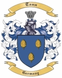 Tann Family Crest from Germany