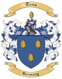 Tans Family Coat of Arms from Germany1