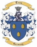 Tans Family Coat of Arms from Germany