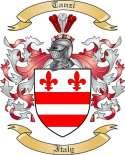 Tanzi Family Crest from Italy