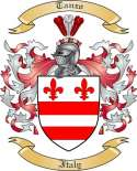Tanzo Family Coat of Arms from Italy