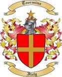 Taormina Family Crest from Italy