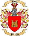 Tapia Family Crest from Portugal