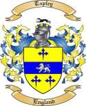 Tapley Family Crest from England