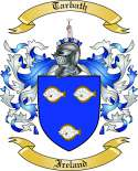 Tarbath Family Coat of Arms from Ireland