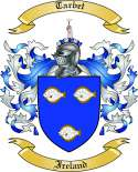 Tarbet Family Coat of Arms from Ireland