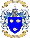 Tarbitt Family Coat of Arms from England