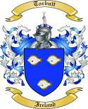 Tarbutt Family Coat of Arms from Ireland
