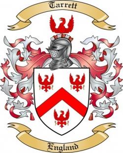 Tarrett Family Crest from England