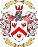 Tarrett Family Coat of Arms from England