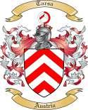 Tarsa Family Crest from Austria