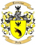 Tassano Family Coat of Arms from Italy