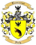 Tassarini Family Coat of Arms from Italy