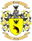Tassi Family Crest from Italy