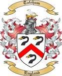 Tateham Family Crest from England2