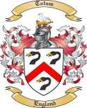Tatum Family Crest from England2